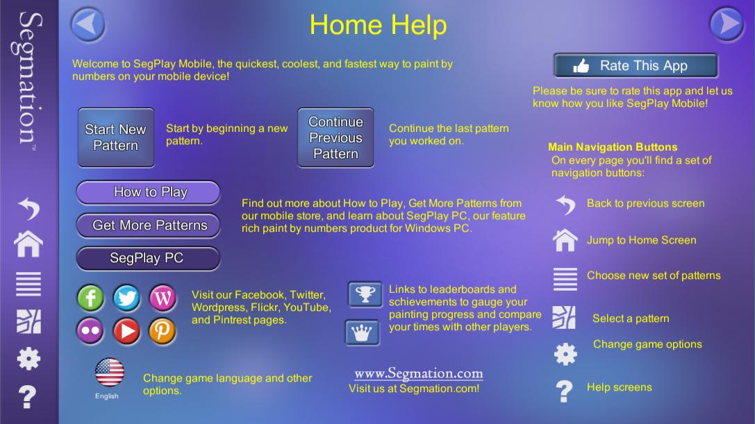 SegPlay Mobile v4 Home