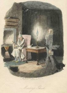 john leech illustration a christmas carol