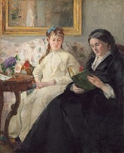 "Wikipedia ""The Mother and Sister of the Artist"" by Morisot"