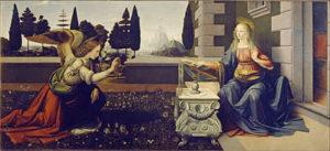 400px-Leonardo_Da_Vinci_-_Annunciazione