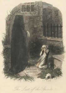 a christmas carol illustration by john leech