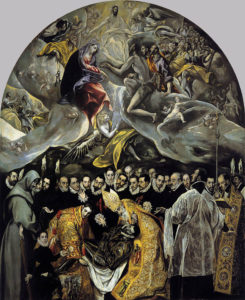 """""""The Burial of the Count of Orgaz"""" Wikipedia"""