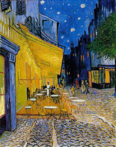 """Cafe Terrace at Night"" Wikimedia Commons"