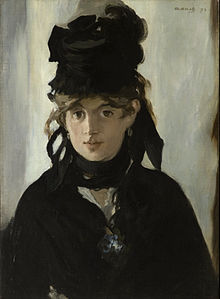 "Wikipedia ""Berthe Morisot with a Bouquet of Violets"" by Édouard Manet"