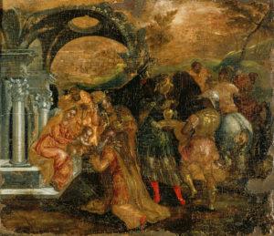 """The Adoration of the Magi"" Wikipedia"