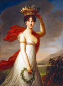 Artwork by Louise Élisabeth Vigée Le Brun Image courtesy Wikipedia