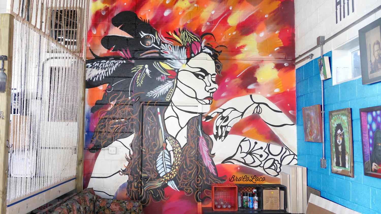 BroCoLoco_37_Indian+headdress+girl+Lexington+street+art+mural