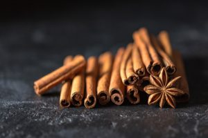 stack of cinnamon sticks and star anise fall DIY decor