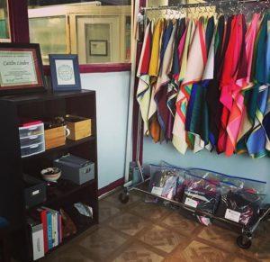 Linden's studio